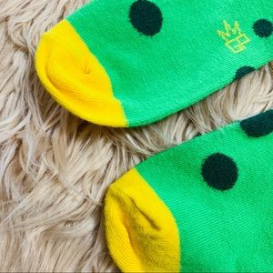 Gumball Poodle Accessories - Gumball Poodle | Green & Yellow Knee High Socks